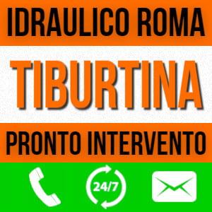idraulico Roma Tiburtina